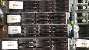 Supermicro 4U-E5-V2CPU SERVER, 2x E5-262