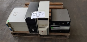 Bulk Lot Of Assorted Desktops