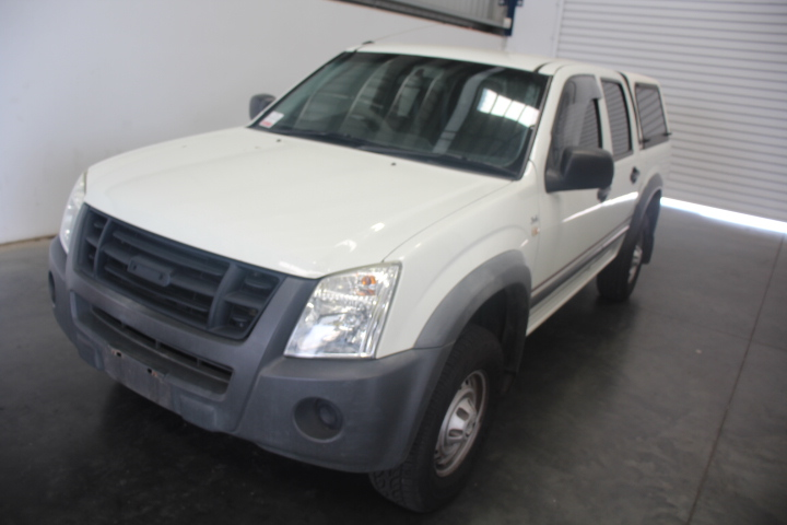 2007 Holden Rodeo Automatic Dual Cab (service histroy)