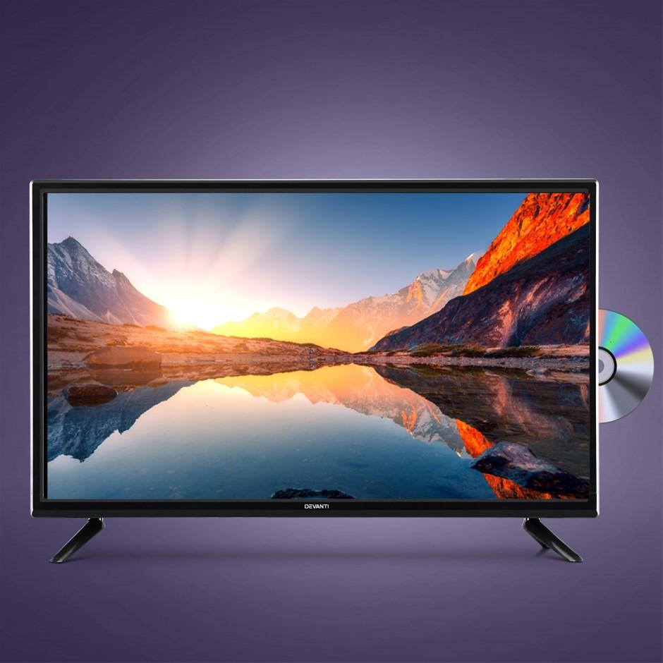 Devanti LED TV 32 Inch Digital Built-In DVD Player LCD LG Panel USB HDMI