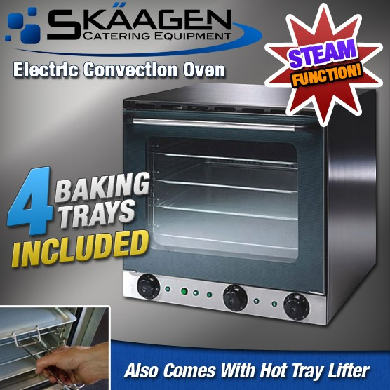 """Unused Heavy Duty """"Fan Forced"""" Electric Oven with """"Steam"""" Function - CO-4A"""