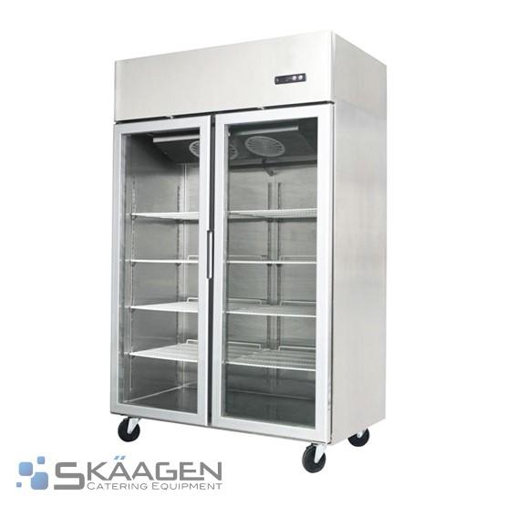 Unused Double Door Display Freezer 1300L - MCF02-GL