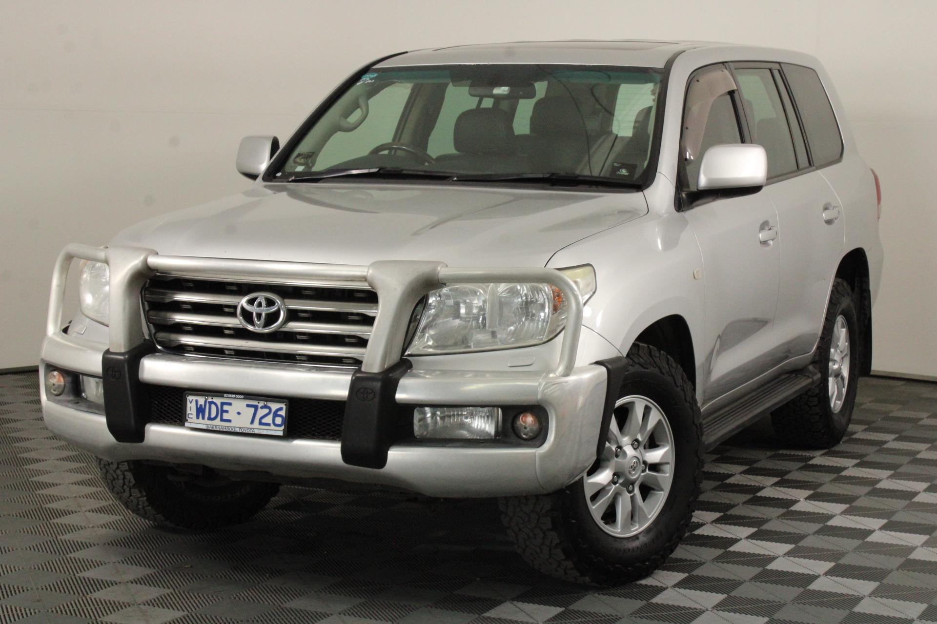 2007 Toyota Landcruiser Sahara (4x4) VDJ200R T/Diesel Auto 8 Seats