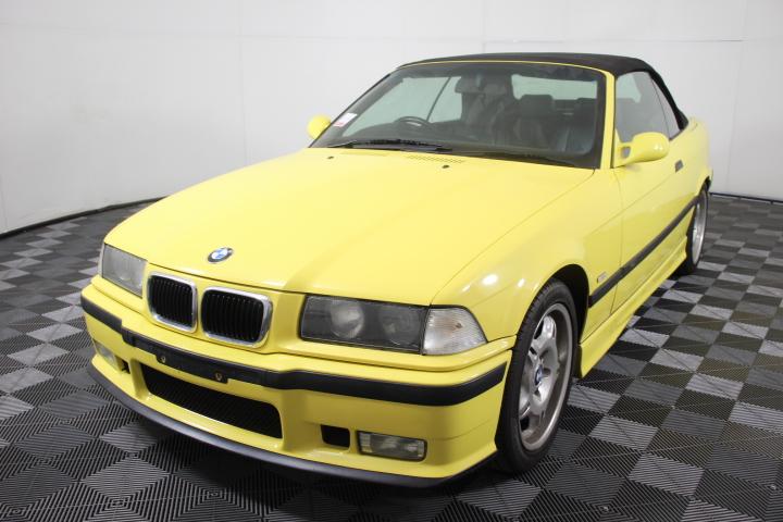 1999 BMW M3 25th Anniversary Edition E36 Manual Convertible, 114,952km