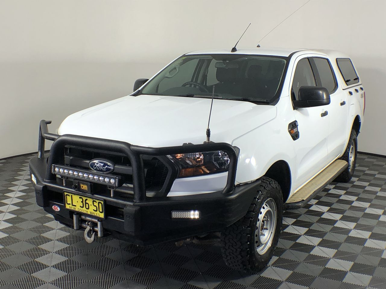 Ex-Gov 2016 Ford Ranger XL 4X4 PXII Turbo Diesel Automatic D/Cab 91,217km