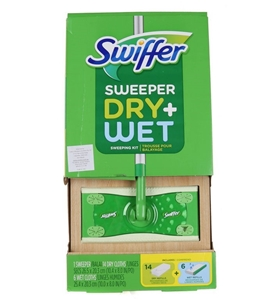 SWIFFER Sweeper Dry + Wet Kit. Includes