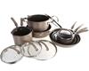 CIRCULON Professional 13pc Cookware Set, Hard Anodized, Comprising; 4 x Pot