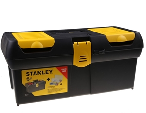 STANLEY 405mm Tool Box with Organisers.