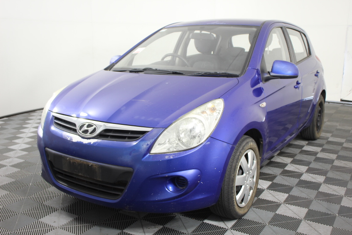 2011 Hyundai i20 Active PB Manual Hatchback (WOVR+Inspected)