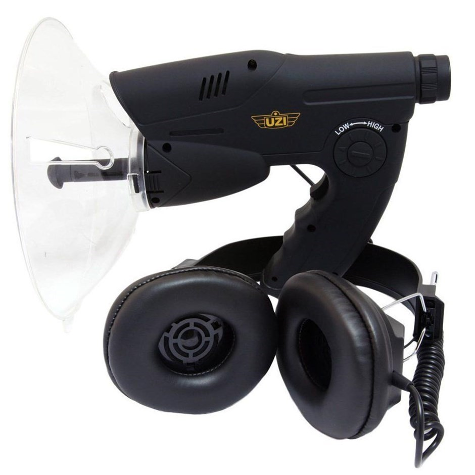 UZI Observation Listening Device 90M Range with Noise Reduction & Sound Col