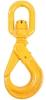 B-ALLOY Eye Swivel Self Locking Safety Hook 10mm Grade 80. Buyers Note - Di