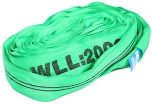 2 x Round Lifting Slings, WLL 2,000kg x