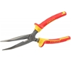 STANLEY FatMax VDE Bent Nose Pliers 200mm, Rated 1000V. Buyers Note - Disco