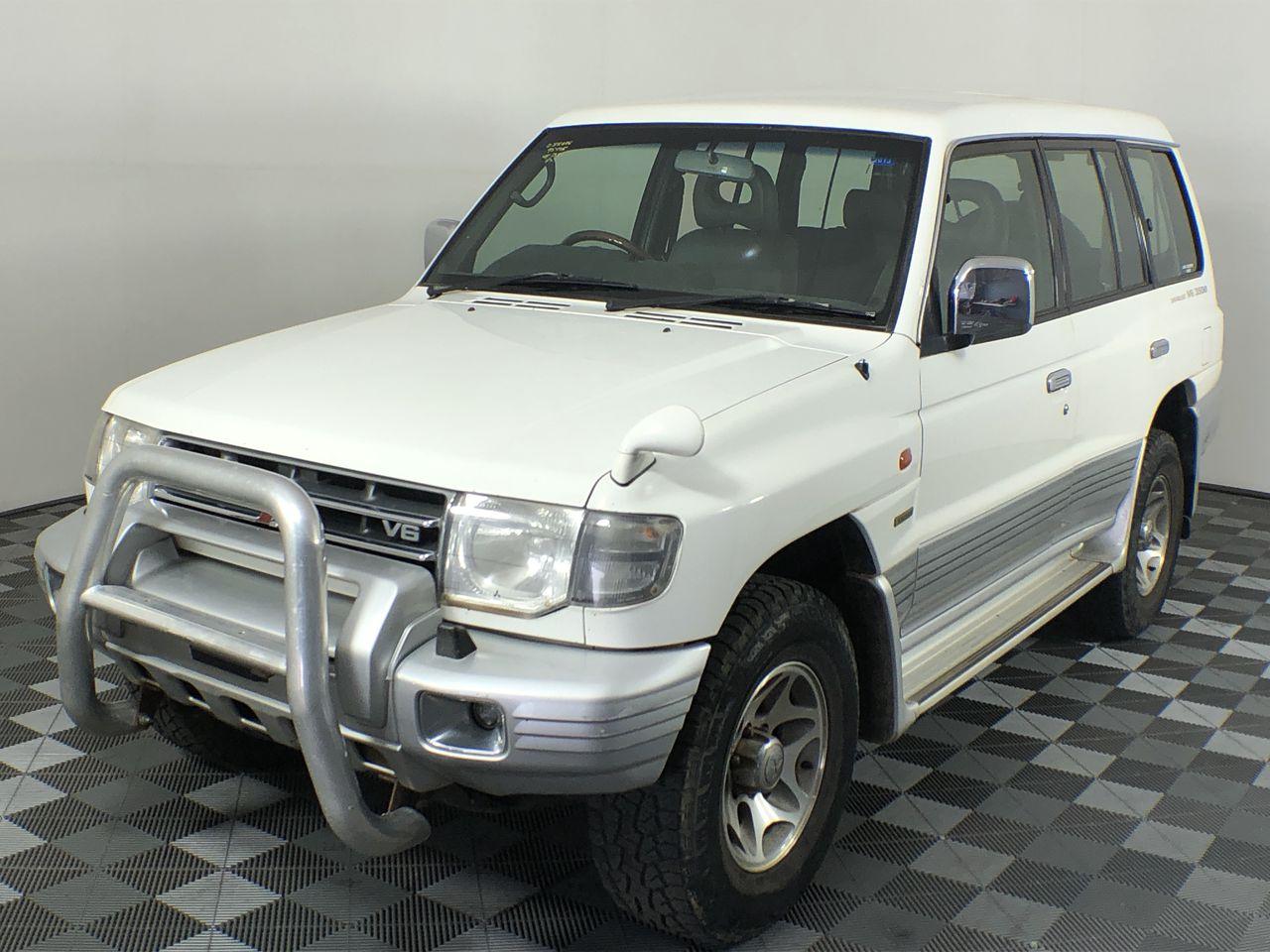 1999 Mitsubishi Pajero EXCEED GLS LWB (4x4) NL Manual 7 Seats Wagon