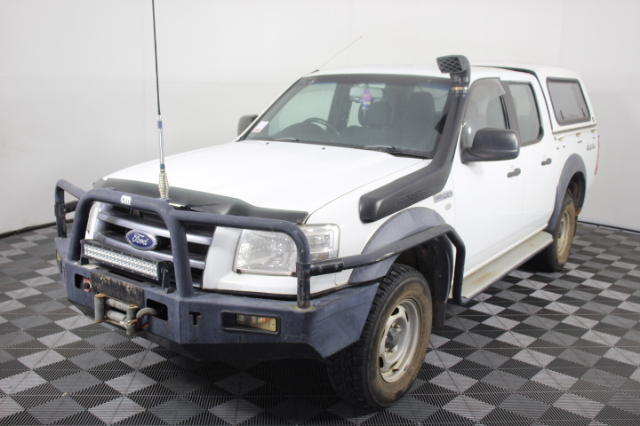 2007 Ford Ranger XL (4x4) PJ Turbo Diesel Manual Dual Cab