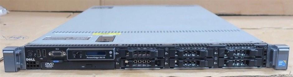 DELL R610 SERVER, 2x X5570, 192GB, 5.4 TB