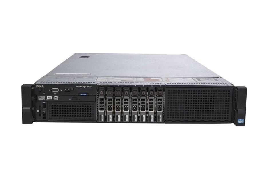 DELL R720 SERVER, 2x E5-2680, 288GB, 24 TB