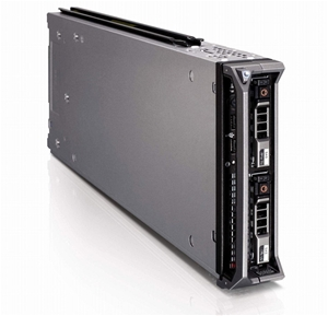 DELL M610 SERVER, 2x X5570, 96GB, 0.6 TB
