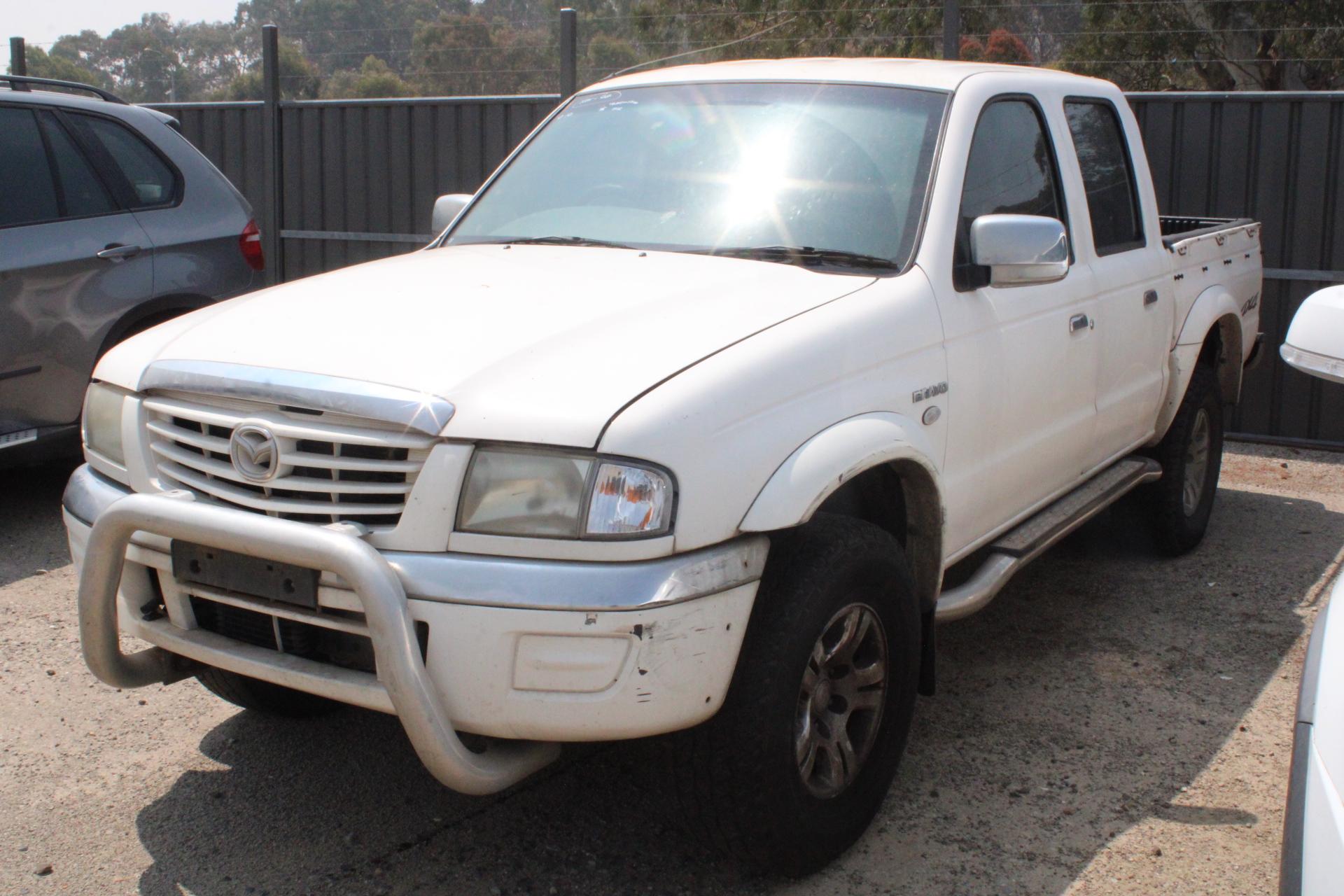 2006 Mazda B4000 BRAVO SDX (4x4) B4000 Automatic Dual Cab