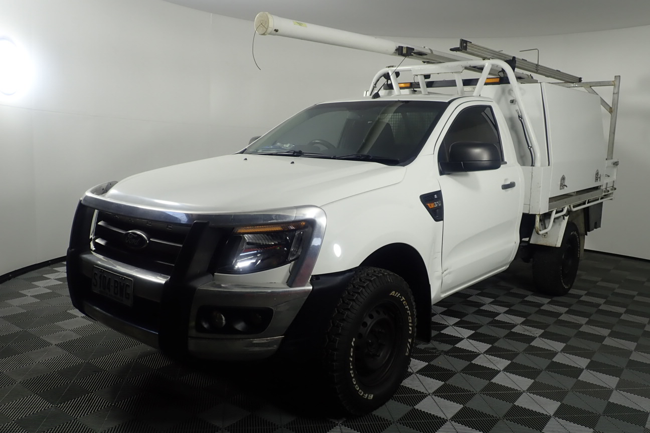 2013 Ford Ranger XL 4X4 PX Turbo Diesel Manual Cab Chassis