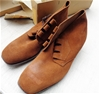 T Boots Suede Lace Up Leather Desert Boots 6.5 - DELIVERY AVAILABLE