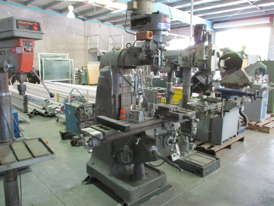 Hare and Forbes Turret Milling Machine