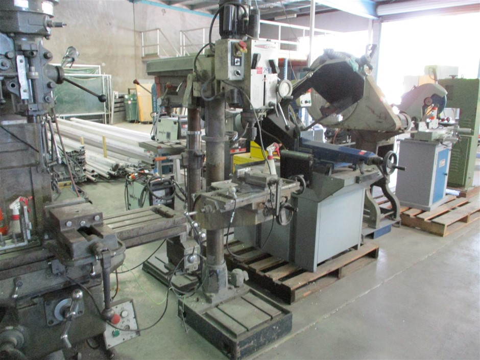 Trademaster Geared Head Drill