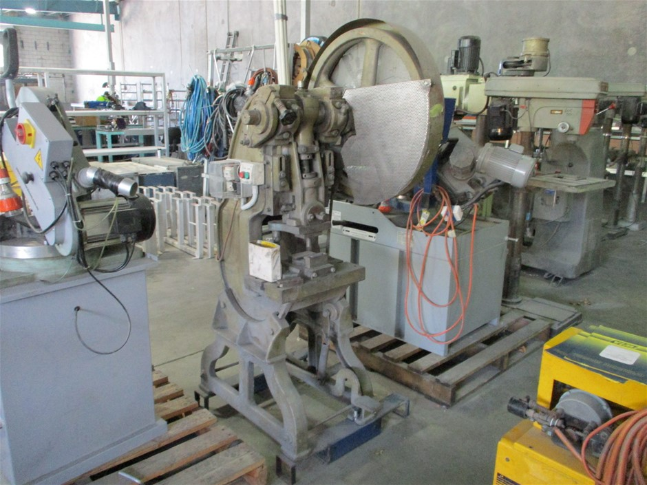 Shieh Yih Machinery Eccentric Press