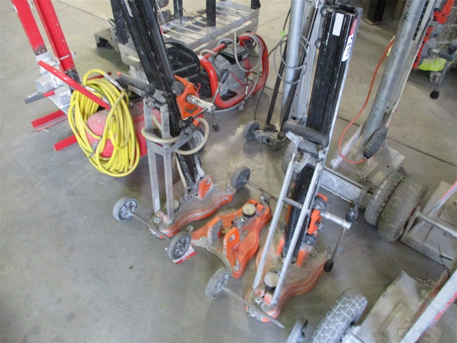 3 x Core Drill Stands