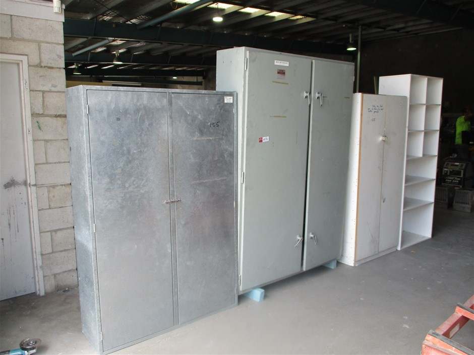 Assorted Cabinets & Pidgeon Hole Unit