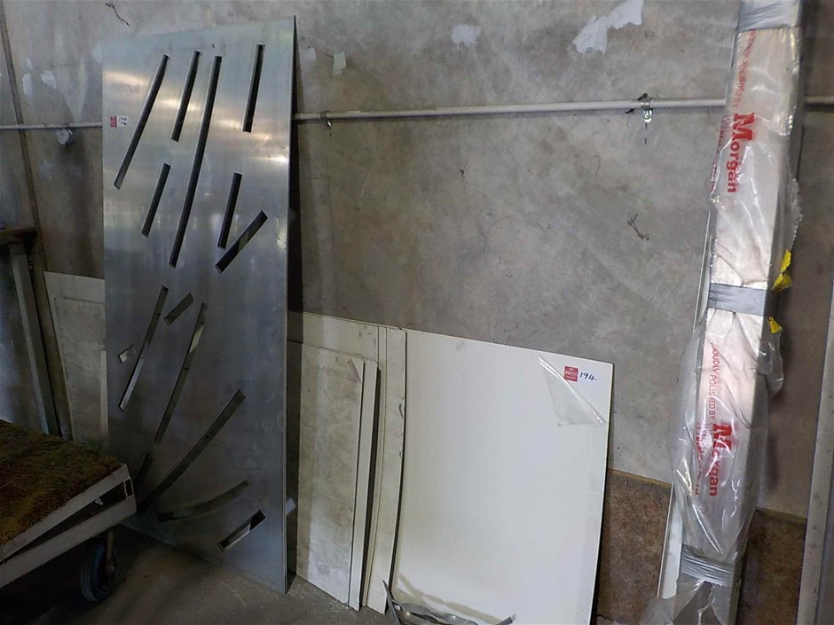 Assorted Aluminium and Metal Sheets/Angle