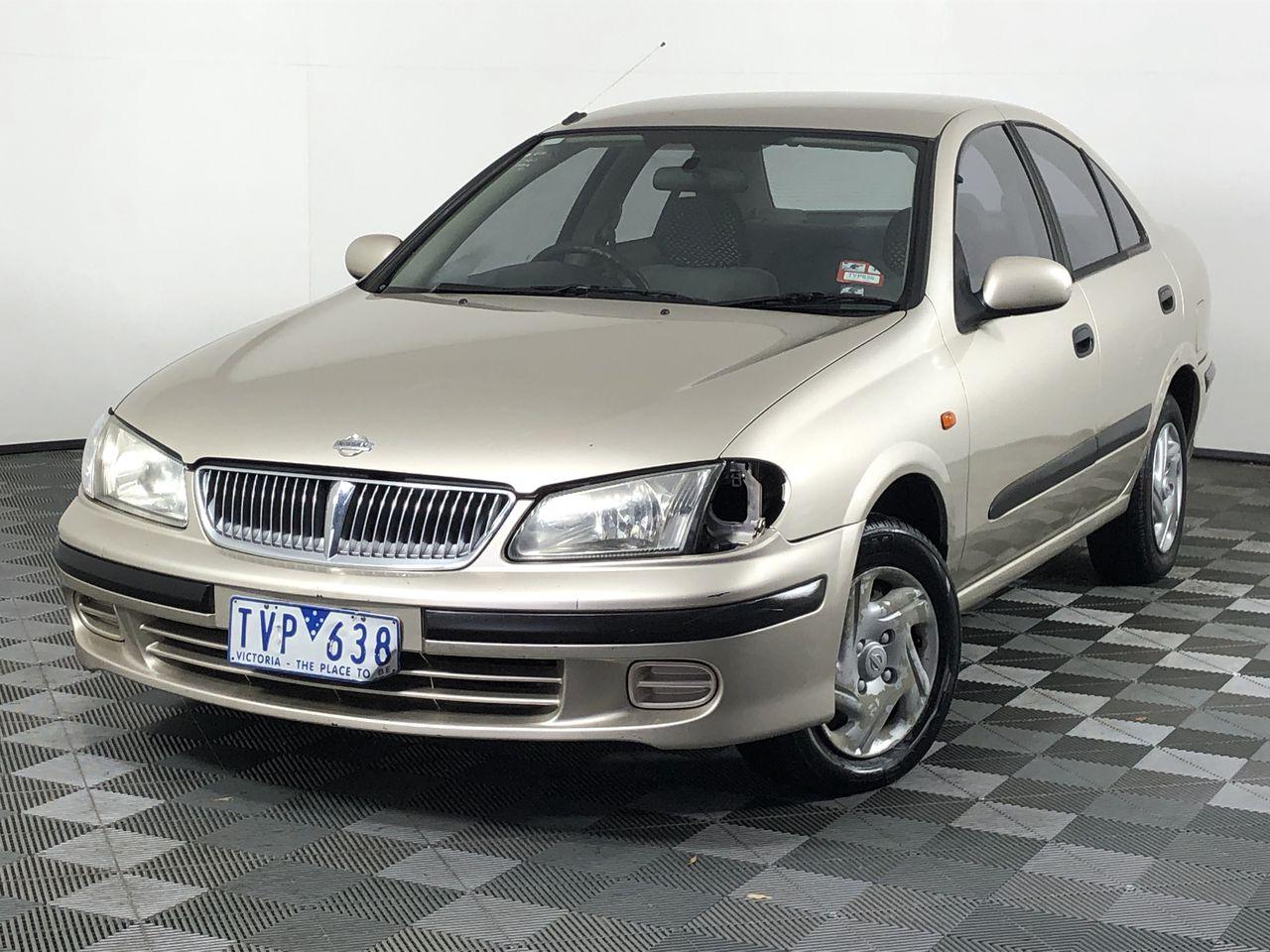 2002 Nissan Pulsar ST N16 Manual Sedan