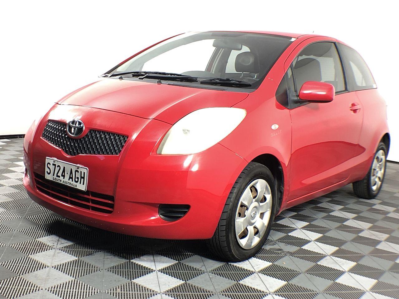 2008 Toyota Yaris YRS Manual Hatchback