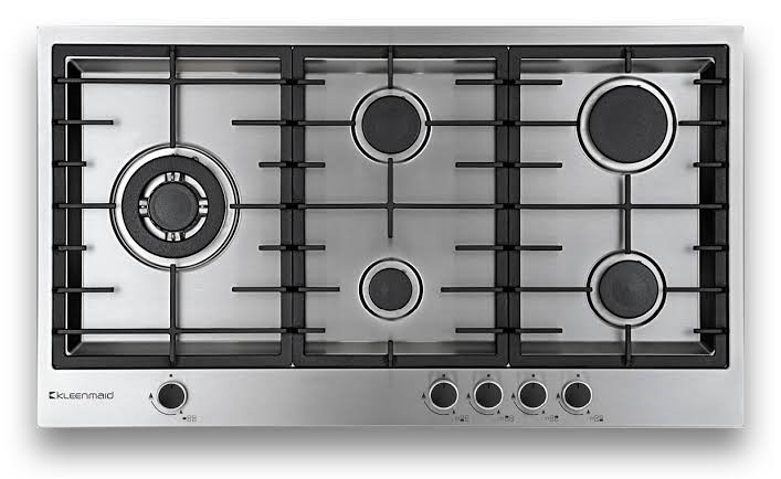 Kleenmaid 90cm 5 Burners Stainless Steel Gas Cooktop (GCT9030)