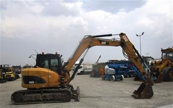 Excavator Plus Attachments