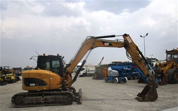 Excavator Plus Attachments