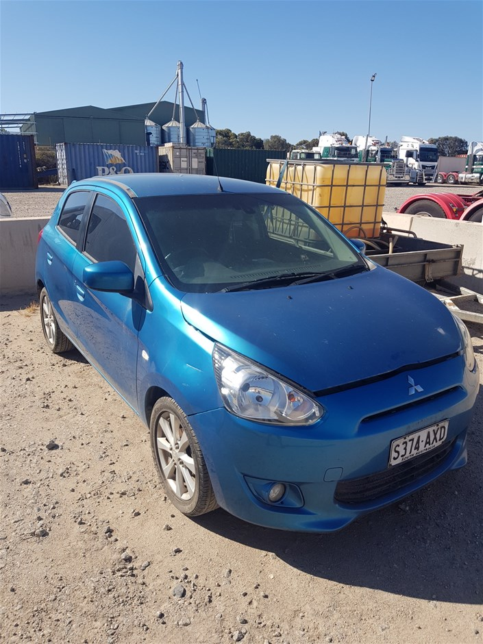 2012 Mitsubishi Mirage Manual Hatchback (PT LINCOLN)