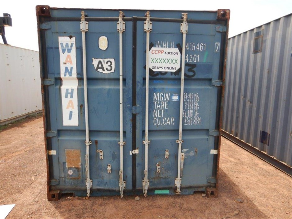 "40"" Foot Shipping Container"