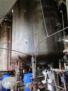 Steel Glass Lined Reactor Tank with Load