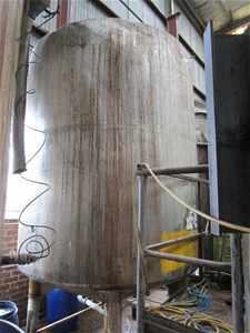 Stainless Steel 6.0 Ton Storage Tank