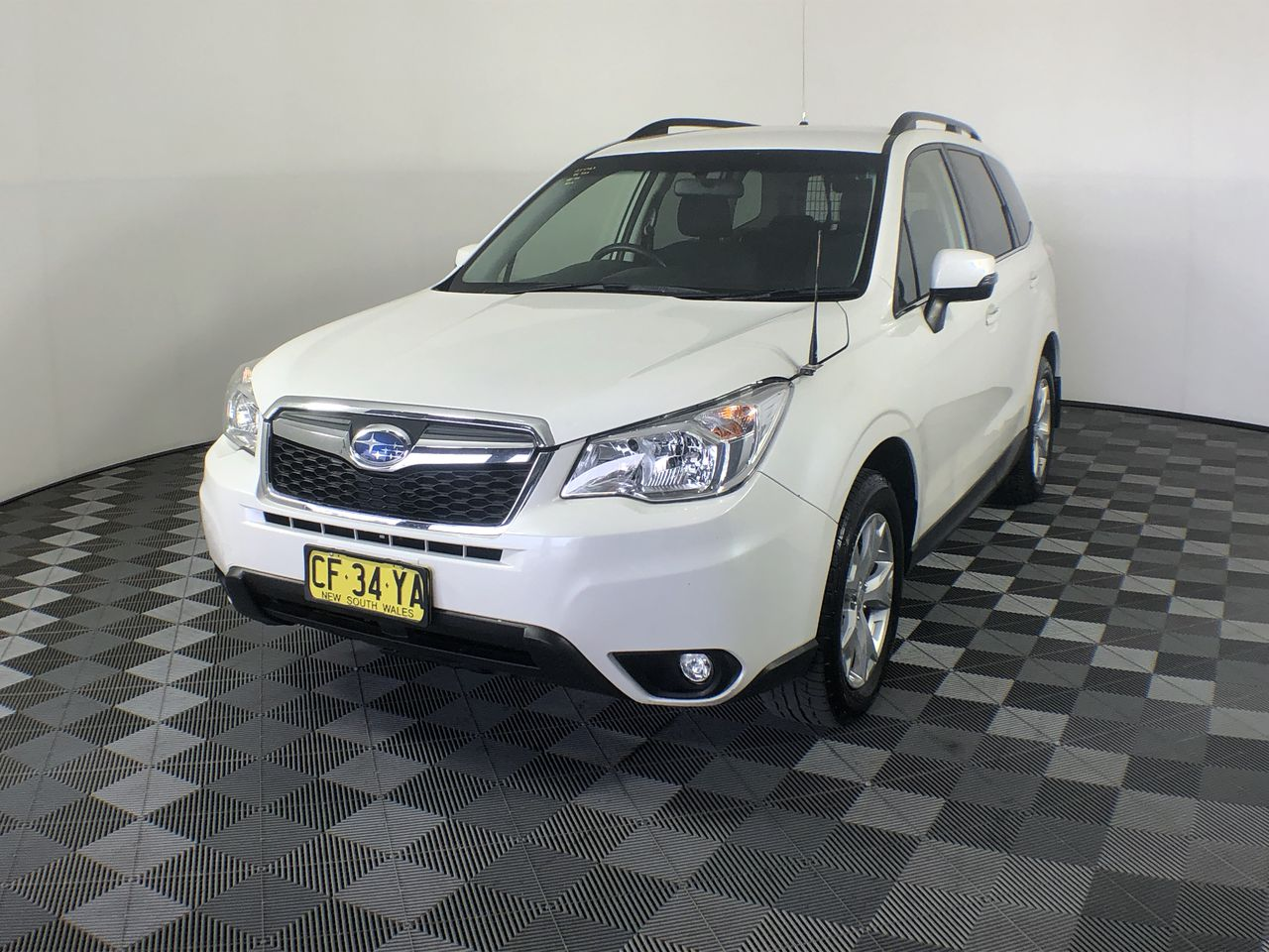 Ex-Government 2015 Subaru Forester 2.0D-L S4 Turbo Diesel CVT Wagon