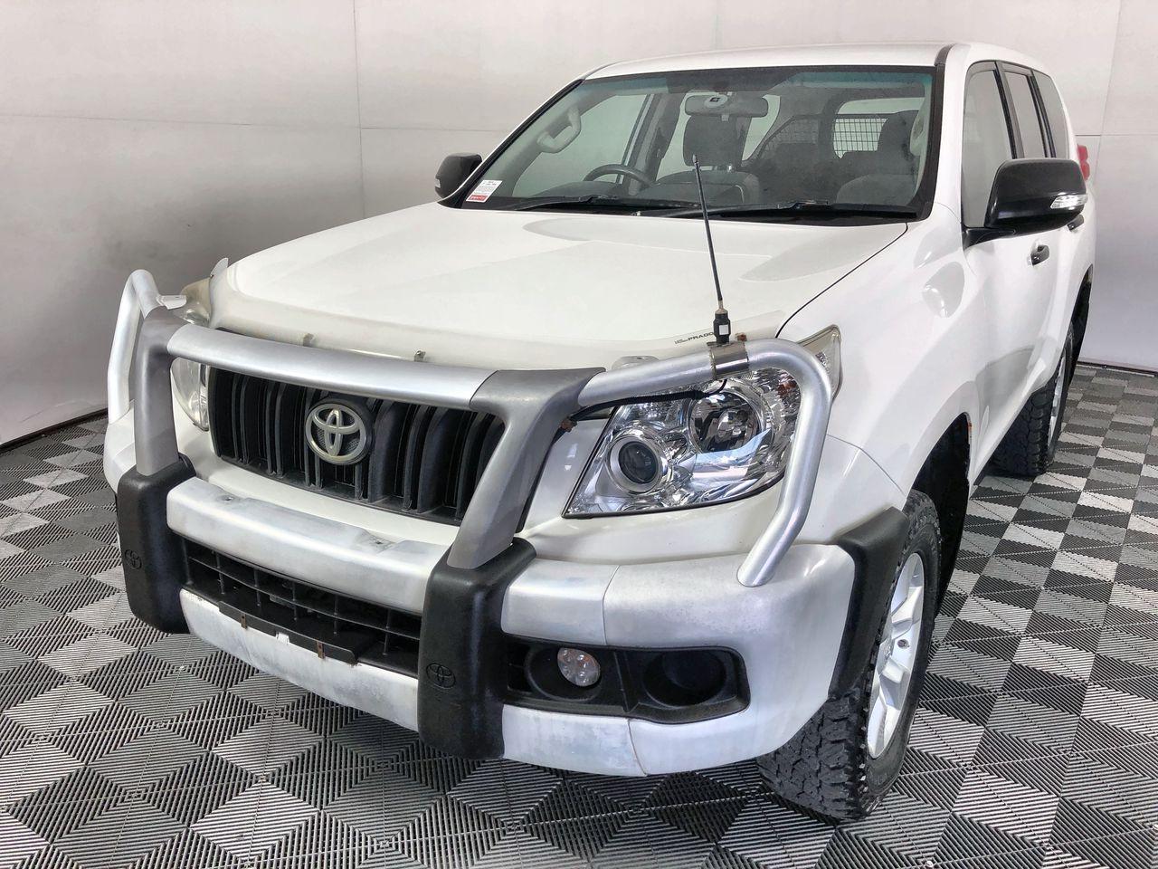 2011 (2012) Toyota Landcruiser Prado GX (4x4) Turbo Diesel Wagon 148,926km