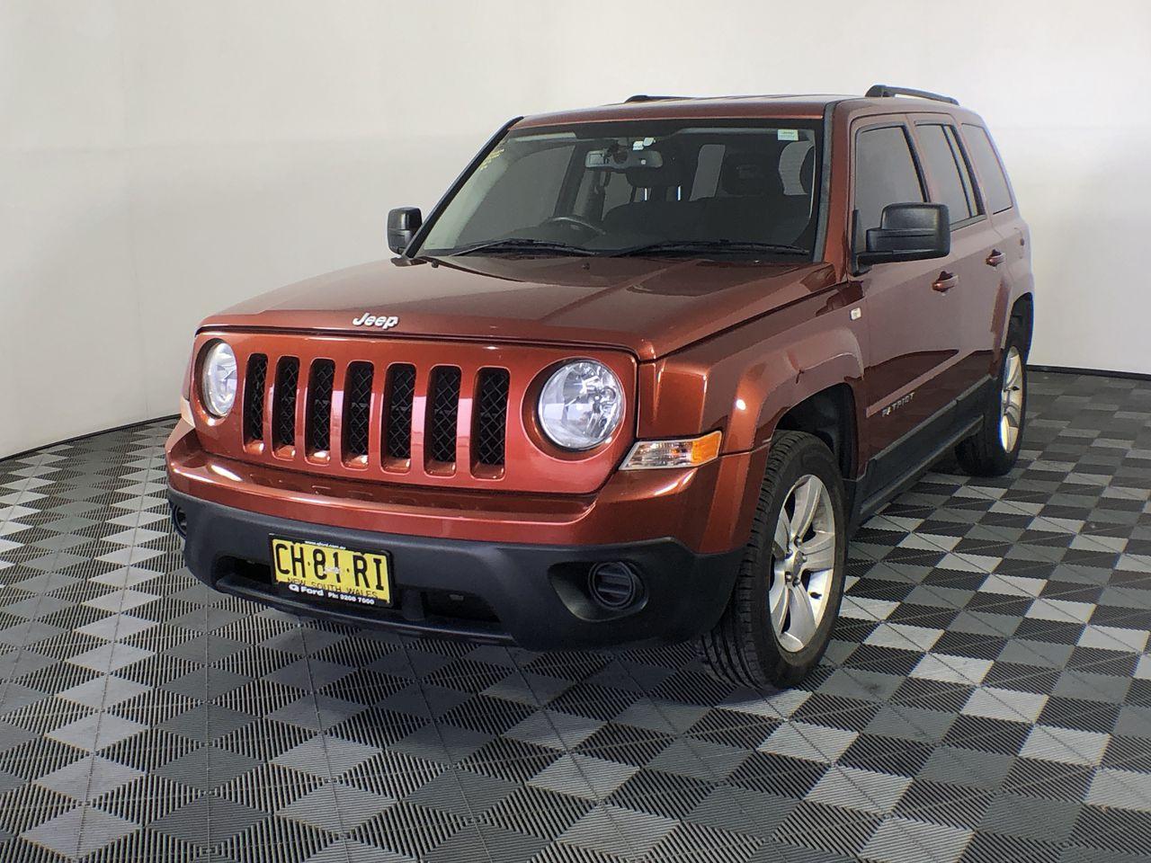 2012 Jeep Patriot Sport MK Manual Wagon