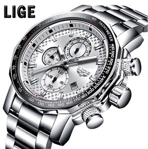 LIGE Men Business & Luxury Quartz Chrono