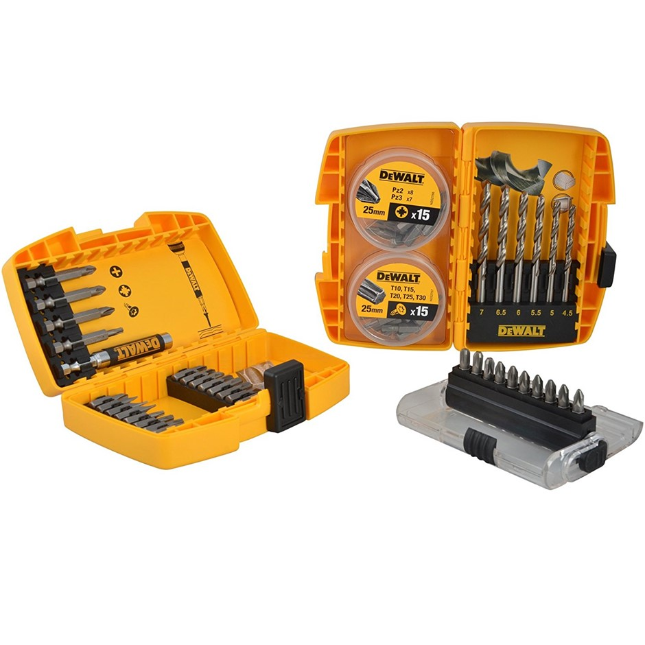 DeWALT 67pc Drill & Bit Set. (SN:DT71901-QZ) (268469-25)