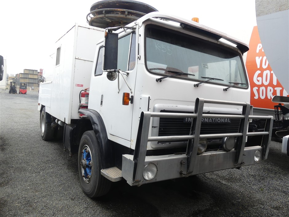 1990 International ACCO 4 x 2 Septic Tank Cleaning Truck