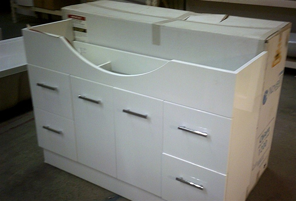 Novelli Semi Recessed 1200mm Vanity Cabinet. New in box. Fully Assembled
