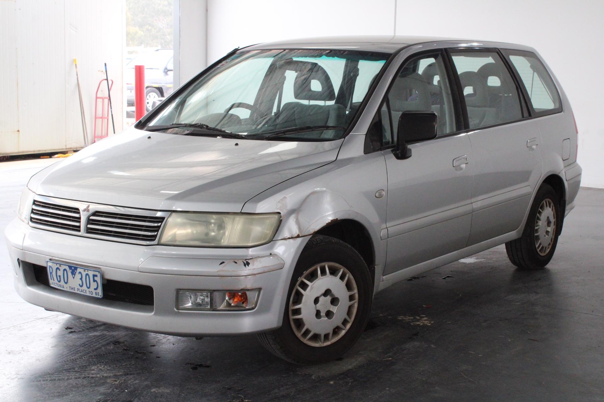 2001 Mitsubishi Nimbus UG Automatic 7 Seats People Mover