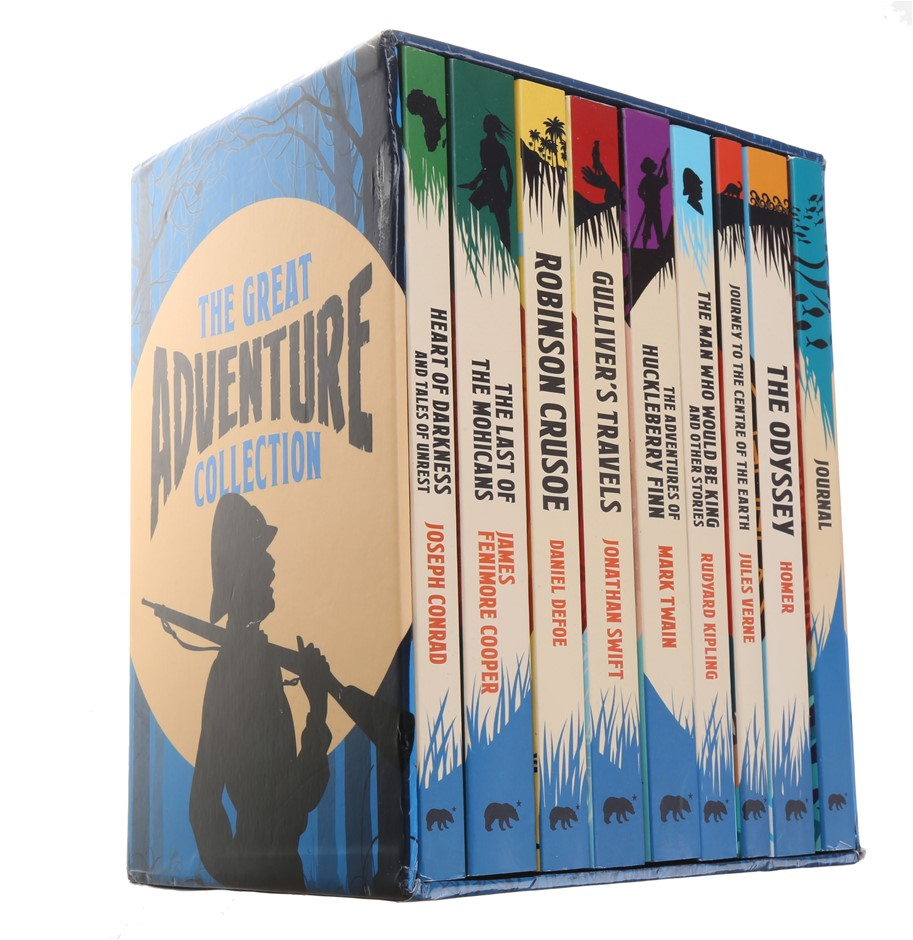 The Great Adventure Collection Set of 9. Buyers Note - Discount Freight Rat
