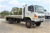 2010 Hino GT T/Diesel 4 x 4 Tray Body Truck 108,518km (Ex Corp)